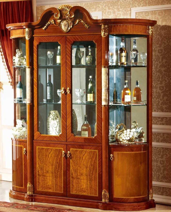 tủ rượu phòng khách gỗ công nghiệp